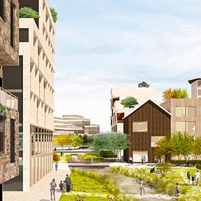 Malaspina Masterplan, Milan, Italy<br />Competition 1st prize