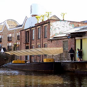 Antepavilion 2018<br />Regent&#8217;s Canal, London UK
