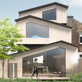 Stacked House<br />London