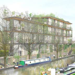 Canalside Housing<br />London