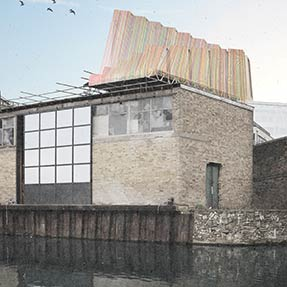 Antepavilion 2019<br />Regent&#8217;s Canal, London UK