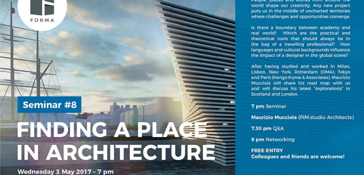 Lecture – Finding a Place in Architecture