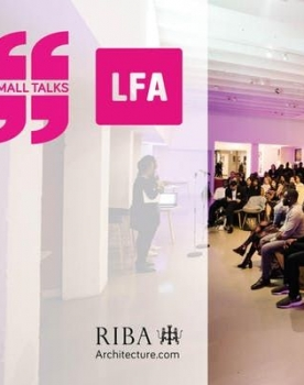 PiM.studio RIBA Small Talks at LFA