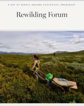 Maria-Chiara Piccinelli talks at the Rewilding Forum
